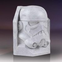 Gentle Giant Star Wars Stormtrooper Stoneworks Faux Marble Bookends