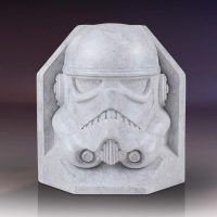 Gentle Giant Stormtrooper Stoneworks Faux Marble Bookends