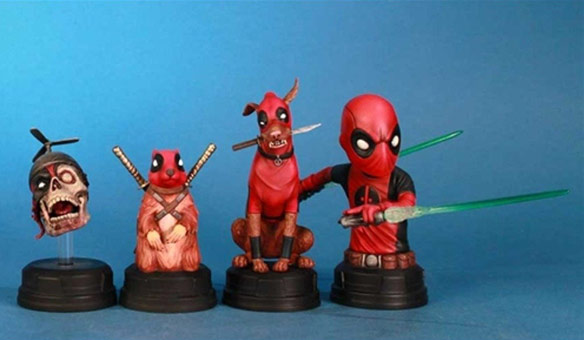 Gentle Giant Studios Deadpool Corps Mini Bust Boxed Set
