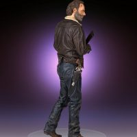 Gentle Giant The Walking Dead Statue Quarter Scale Rick Grimes