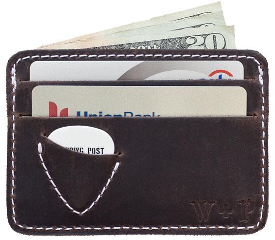 Georgia Brown Plectrum Wallet