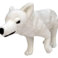 Ghost Direwolf Plush