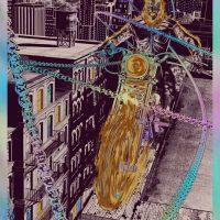 Ghost Rider Art Print by Chris Skinner