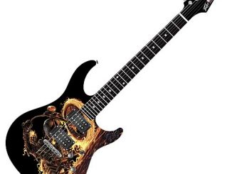 Ghost Rider Predator Plus Exp Electric Guitar