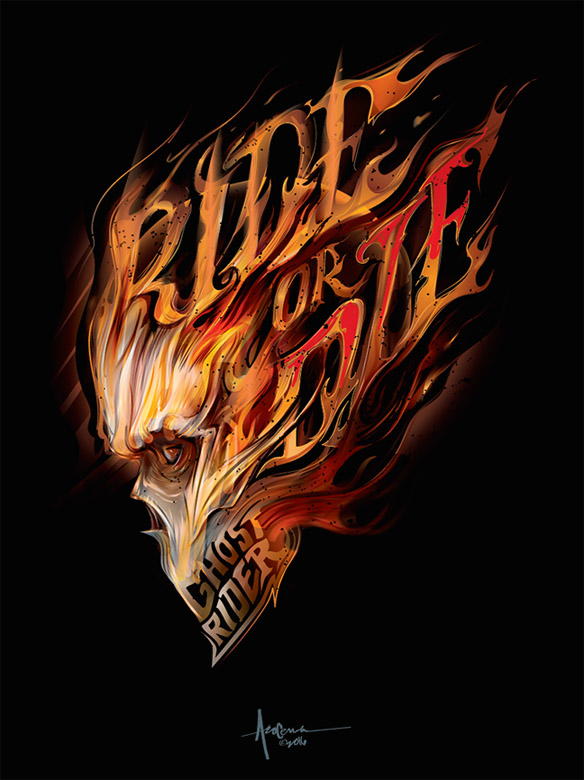 ghost-rider-ride-or-die-art-print