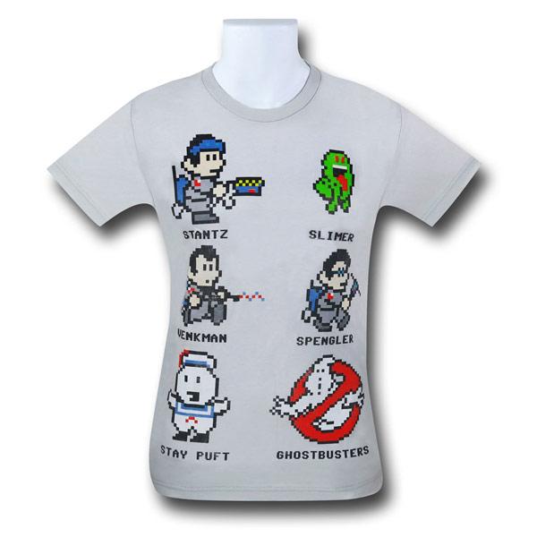 Ghostbusters 8 Bit Shirt