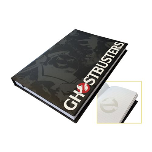Ghostbusters Black Leather Journal