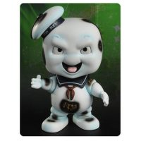 Ghostbusters Burnt Stay Puft Marshmallow Man Swing Series Bobble Head