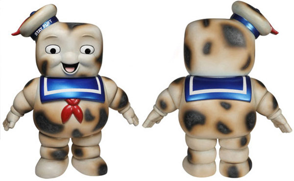 Ghostbusters Burnt Stay Puft Premium Vinyl Figure