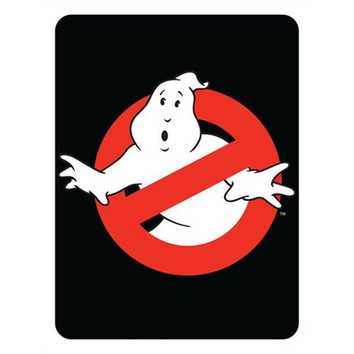 Ghostbusters Classic Logo Fleece Blanket