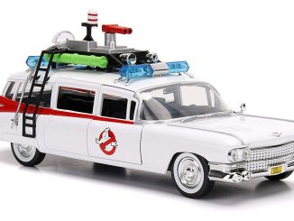 Ghostbusters ECTO-1 1:24 Scale Die-Cast Vehicle