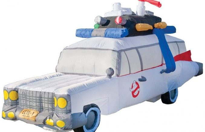 Ghostbusters Ecto 1 Vehicle Inflatable Lawn Decoration