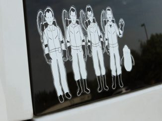 Ghostbusters Family Window Decal