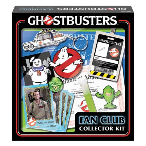 Ghostbusters Fan Club Collectors Kit