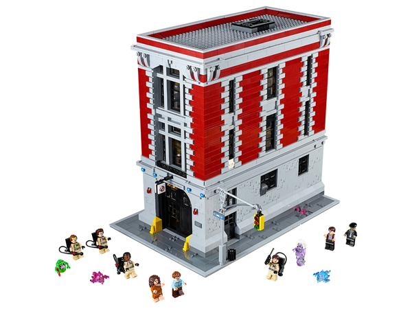 Ghostbusters Firehouse Headquarters LEGO Set