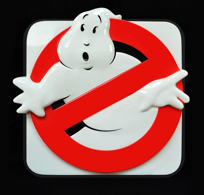 Ghostbusters Firehouse Light Up Sign Prop Replica