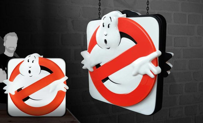 Ghostbusters Firehouse Sign