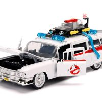 Ghostbusters Hollywood Rides ECTO-1 Scale Die-Cast Vehicle