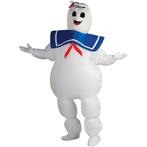 Ghostbusters Inflatable Stay Puft Marshmallow Man Costume