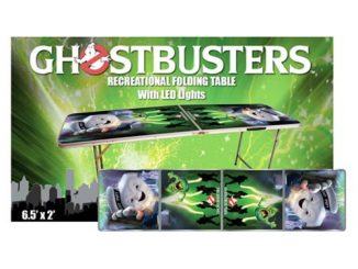 Ghostbusters Light-Up Beer Pong Table