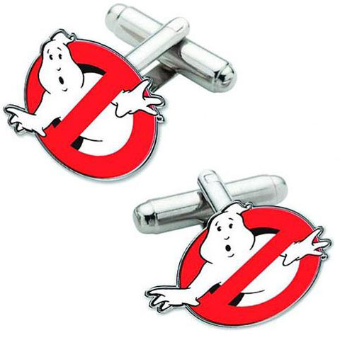 Ghostbusters Logo Cufflink Set