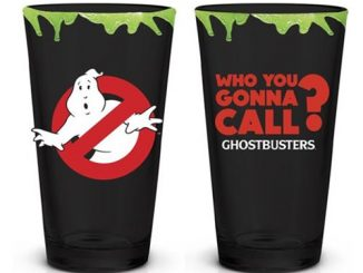 Ghostbusters Logo Who You Gonna Call Pint Glass