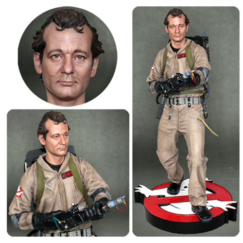 Ghostbusters Peter Venkman 1-4 Scale Statue