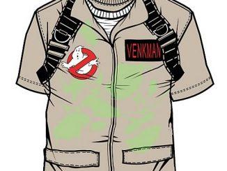 Ghostbusters Peter Venkman Uniform T-Shirt