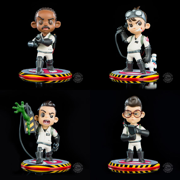 Ghostbusters Q-Pop Figures