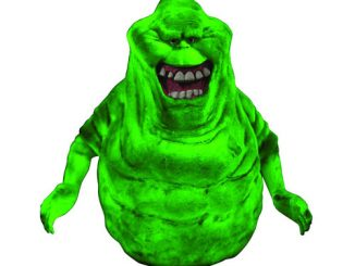 Ghostbusters Slimer Glow-in-the-Dark Bank