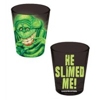 Ghostbusters Slimer He Slimed Me Shot Glass