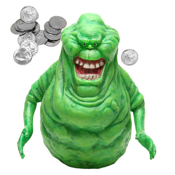 Ghostbusters Slimer Piggy Bank