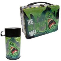 Ghostbusters Slimer Retro Style Metal Lunch Box