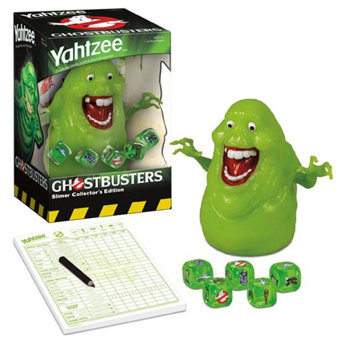 Ghostbusters Slimer Yahtzee