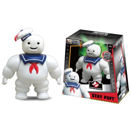 Ghostbusters Stay Puft Marshmallow Man 6-Inch Metals Die-Cast Figure