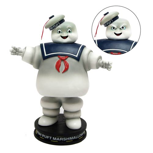 Ghostbusters Stay Puft Marshmallow Man Deluxe Bobble Head