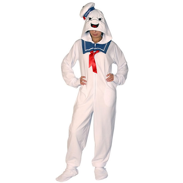 0349518cdae Ghostbusters Stay Puft Marshmallow Man Pajamas