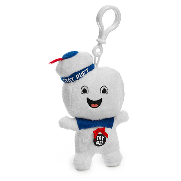 Ghostbusters Stay Puft Plush Clip On