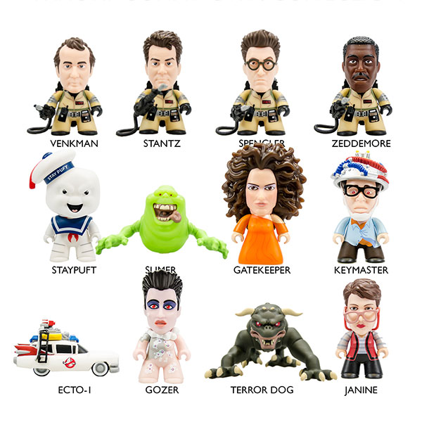 Ghostbusters Titans Collection Blind Box Vinyl Figures