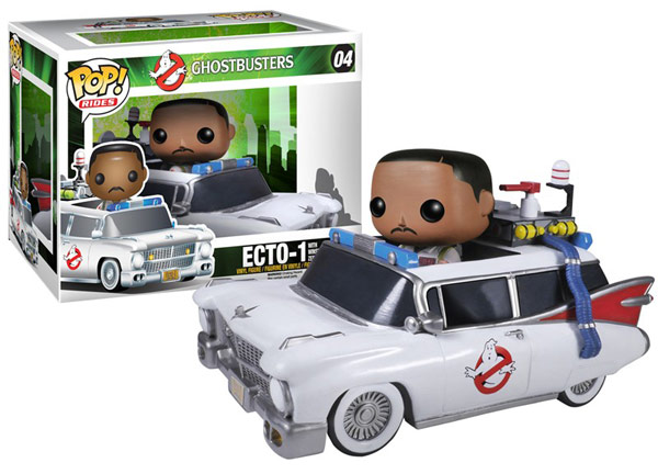 Ghostbusters Winston and Ecto 1 Vinyl Vehicle