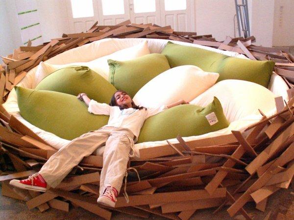 bird nest bed 3