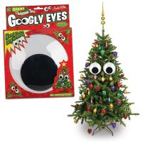 Giant Christmas Tree Googly Eyes