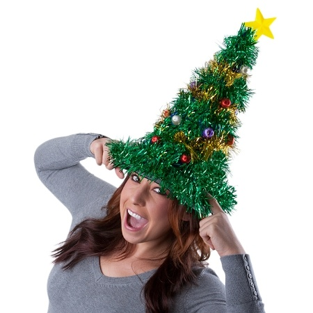 Giant Christmas Tree Hat