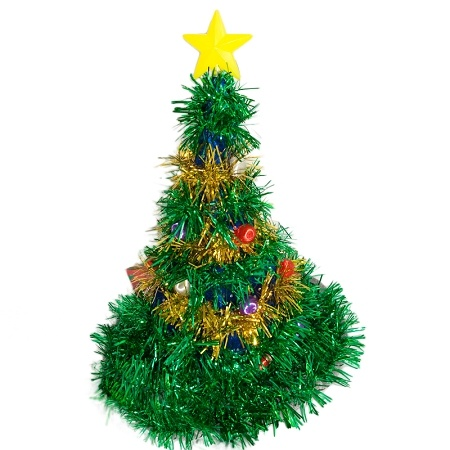 Giant Christmas Tree Hat