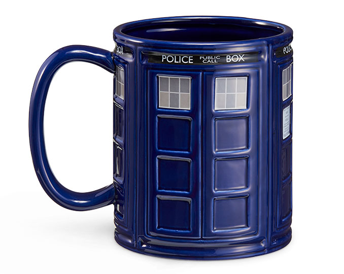 Giant Dr Who TARDIS Mug