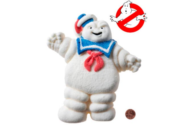 Giant Edible Ghostbusters Stay Puft Marshmallow Man