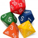 Giant Foam Polyhedral Dice