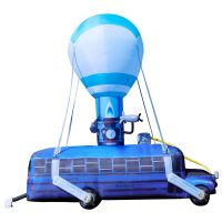 Giant Fortnite Battle Bus Inflatable