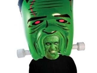 Giant Inflatable Monster Head