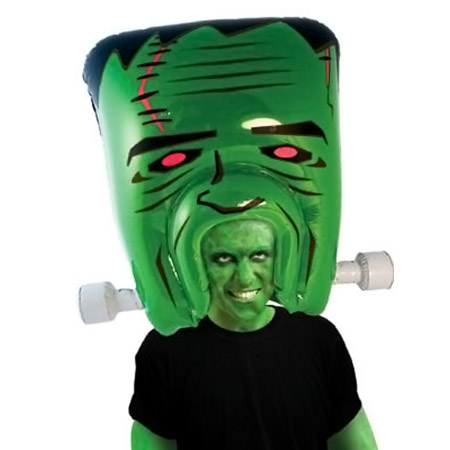 Giant Inflatable Frankenstein Monster Head